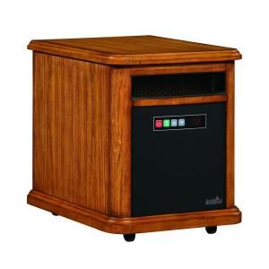 Duraflame Williams 1500 Watt Infrared Quartz Electric Portable Heater   Oak 10HM4126 O107