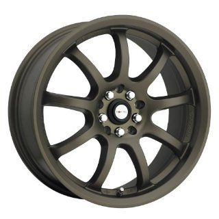 FOCAL   type 169 f 9   17 Inch Rim x 7.5   (4x100/4x4.5) Offset (42) Wheel Finish   matte bronze Automotive