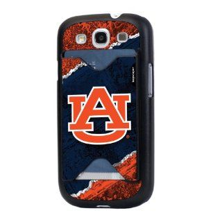 NCAA Auburn Tigers Brick Galaxy S3 Credit Card Case  Sports Fan Cell Phone Accessories  Sports & Outdoors