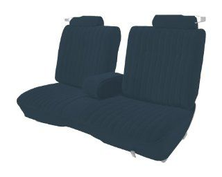 Acme U207S 2309 Front and Rear Medium Blue Vinyl Bench Seat Upholstery Automotive
