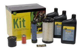 John Deere Home Maintenance Kit LG243, X495  Lawn Mower Tune Up Kits  Patio, Lawn & Garden