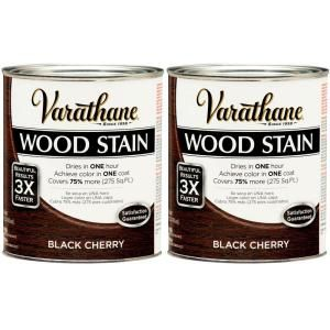 Varathane 1 Qt. Black Cherry Wood Stain (2 Pack) DISCONTINUED 207120