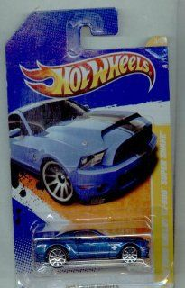Hot Wheels 2011 3/244 New Models 3/50 BLUE '10 Ford Shelby GT 500 Super Snake 164 Scale Toys & Games