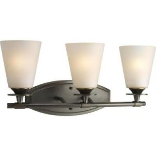 Progress Lighting Cantata Collection Forged Bronze 3 light Vanity Fixture P3248 77