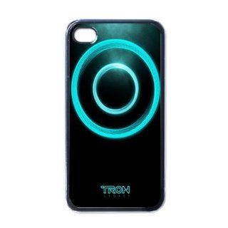 Tron Legacy iPhone 4 / iPhone 4s Black Designer Shell Hard Case Cover Protector Gift Idea Cell Phones & Accessories