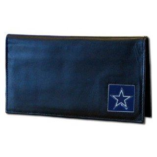 Dallas Cowboys NFL Checkbook Cover in a Window Box  Sports Fan Wallets  Sports & Outdoors