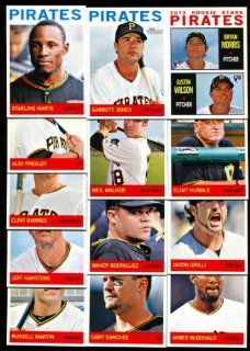 2013 Pittsburgh Pirates Topps Heritage Baseball Complete Mint 13 Basic Card Team Set Sports Collectibles