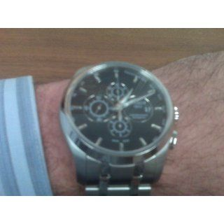 Tissot Couturier Automatic Chronograph Black Dial Men's Watch #T035.627.11.051.00 at  Men's Watch store.