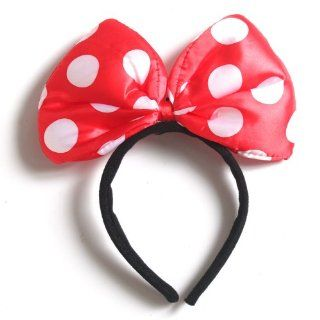 Red   LED Flash Light Hair Band Dotted Party Masquerade Costume