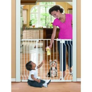 Summer Infant Sure and Secure 36 in. Extra Tall Walk Thru Gate 07060