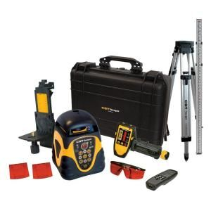 CST/Berger HZ/VT PKG Rotary Laser Level with Detector, Tripod and Rod 57 ALHVPKG