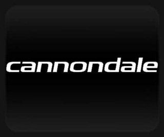 Cannondale White Sticker Decal Automotive