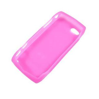 Silicon Skin Hot Pink Rubber Soft Cover Case for Sharp Sidekick LX 2009 [WCJ112] Cell Phones & Accessories
