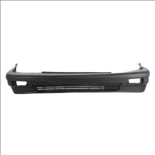 CarPartsDepot 352 201225 10 PM 3DR FRONT BUMPER PRIMERED BLACK FACIAL PLASTIC COVER HATCHBACK HO1000153 Automotive