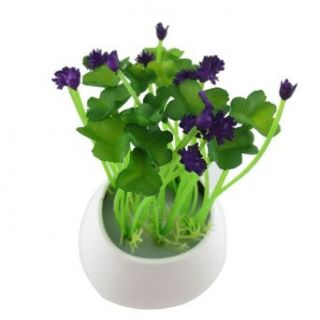 Creative Clover Plants on the Wall Light Control LED Night Light Energy Saving LED Night Lamp