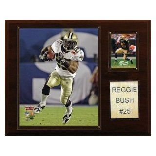 "New Orleans Saints Reggie Bush 12""x15"" Player Plaque  Sports Related Plaques  Sports & Outdoors"