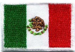 Flag of Mexico Mexican Bandera Embroidered Applique Iron on Patch Medium S 347 Fast Shipping Ship Worldwide From Hengheng Shop