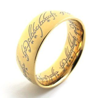 Pr620690 R&d Stainless Steel Ring Mens Lady's Gp Lord of the Rings 10