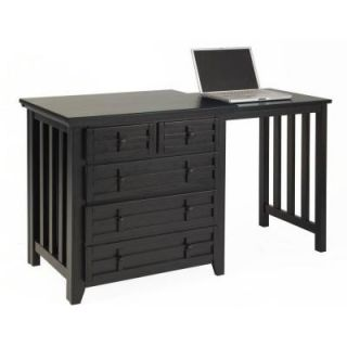 Home Styles Arts & Crafts Black Expand a Desk DISCONTINUED 5181 93