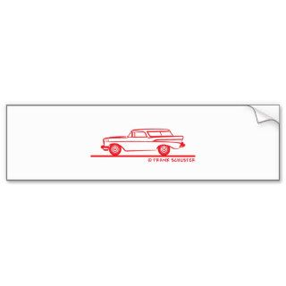 1957 Chevy Nomad Bel Air Bumper Sticker