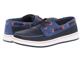 Sperry Top Sider Kids Cupsole Slip On Boys Shoes (Blue)