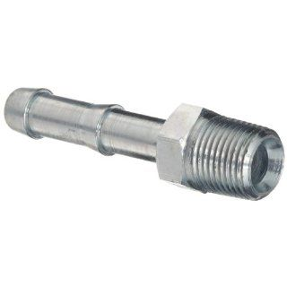 "Dixon KHN442 King Plated Steel Shank/Water Fitting for Two Clamp, Hex Nipple, 1/2"" NPT Male, 1/2"" Hose ID Barbed, Box of 50 Industrial Pipe Fittings"