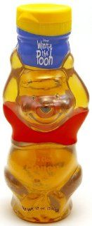 """WINNIE THE POOH"" (Honey) ""USA"", Packaged in Bear Shaped Plastic Bottle, 340g. ""Disney""  Grocery & Gourmet Food"