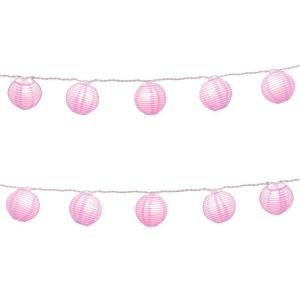 Paper Lantern String Lights in Purple 76301