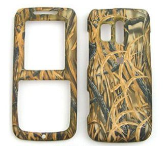 Samsung Messenger R450/R451 (Straight talk) Camo / Camouflage Hunter Series Shedder Grass Hard Case, Cover, Faceplate, SnapOn, Protector Cell Phones & Accessories