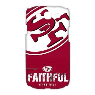 WY Supplier San Francisco 49ers Team Logo Case Cover for Samsung Galaxy S3 I9300 3D WY Supplier 148092  Sports Fan Cell Phone Accessories  Sports & Outdoors