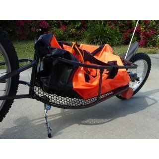 Aosom Solo Single Wheel Bicycle Cargo Bike Trailer  Cargo Carrier Bike Trailers  Sports & Outdoors