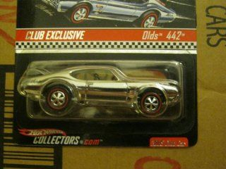 HOT WHEELS RED LINE CLUB EXCLUSIVE 2005 CLUB CAR CUSTOM CHROME DIXIE OLDS 442 Toys & Games