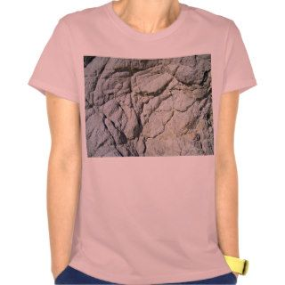 Rocky Stone Natural Grey Mountain Texture T shirts