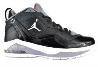 Jordan Melo M8 (GS) Big Kids Basketball Sneakers Black / White   Red   Grey 469787 011 7 Shoes