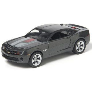 "3"" 2012 Chevy Camaro 164 Scale (Charcoal Grey) Toys & Games"