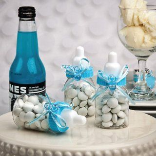 Design Your Own Collection Blue Baby Bottle Favors Health & Personal Care