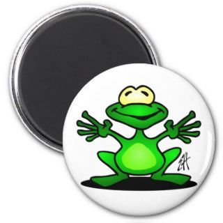 Friendly Frog Fridge Magnet