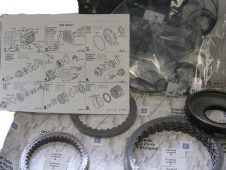 BMW 7 Series ZF5HP24 Overhaul Rebuild Kit with Frictions and Piston Automotive