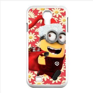 Yedda DIY Design Merry Christmas Minions gifts custom Especial Durable Hard Plastic Case Cover Fits Samsung Galaxy S4 I9500 Cell Phones & Accessories