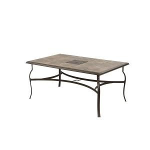 Hampton Bay Belleville Rectangle Patio Dining Table FTS80635