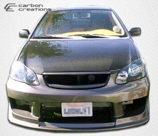 2003 2008 Toyota Corolla Carbon Creations OEM Hood   1 Piece   we recommend the use of hood pins with all hoods� Automotive