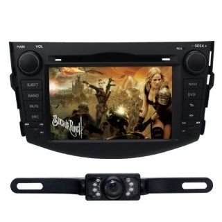 "Tyso For Toyota Rav4 (2009 2010) 7"""" CAR DVD GPS Navigation RDS Rear Camera Bluetooth (Free Map) CD8918R  In Dash Vehicle Gps Units"