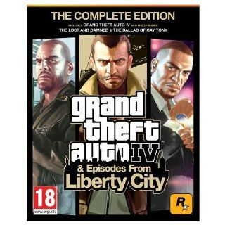 Grand Theft Auto IV Complete PC Video Games