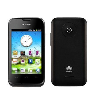 Huawei Ascend Y210D Black WiFi Android Touchscreen GSM Dual SIM 3G Cell Phone Cell Phones & Accessories