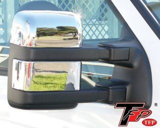 503 Ford Super Duty (without Signal) 2008   2011 Truck ABS Chrome Mirror Insert Accent Cover Automotive