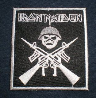 RON MAIDEN Heavy Metal Thrash Band patch Iron on Sew Applique Embroidered patches