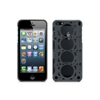 id America IDCA504 GRY Gasket Brushed Aluminum Case for iPhone 5   Retail Packaging   Grey Cell Phones & Accessories