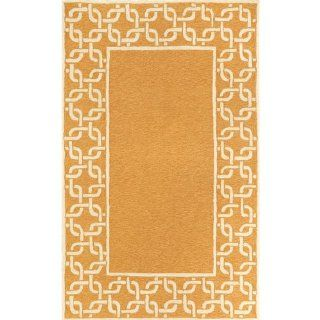 Spello Collection Indoor Outdoor Rug   Chain Border   Area Rugs