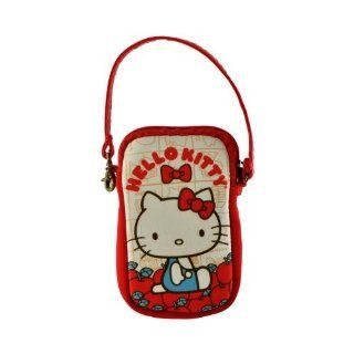 Hello Kitty Vintage Apples Universal Camera & Phone Neoprene Pouch w/Wrist Strap Cell Phones & Accessories
