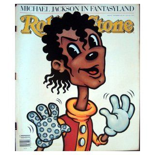 Rolling Stone Magazine Sept 24, 1987 Issue 509 Michael Jackson (cartoon) Cover Books